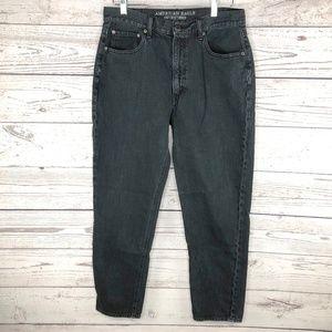 American Eagle Black Vintage Hi Rise Jeans 12 Long